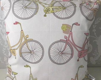 Handmade cushion bycicles