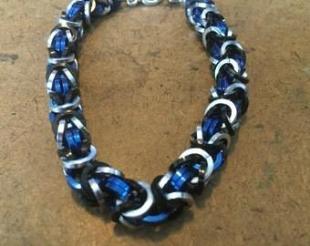 Melinda May Inspired Byzantine Bracelet