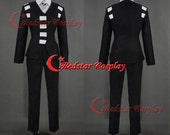 Black Soul Eater Death the Kid Cosplay Costume - Custom made in any size