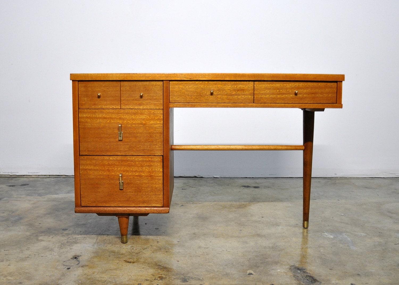mid century modern vanity table