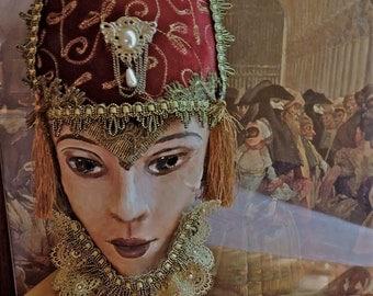 Carnevale Mask of Veronica Franco