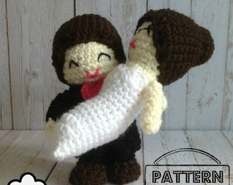 Crochet Pattern Doll : Wedding amigurumi Wedding Doll To Have and To hold