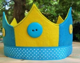 waldorf style crowns