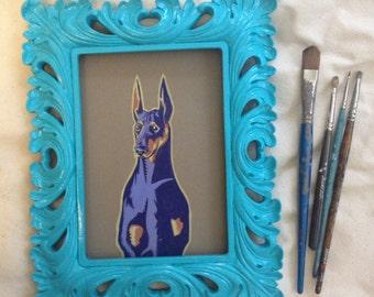 Custom pet portrait 5x7'