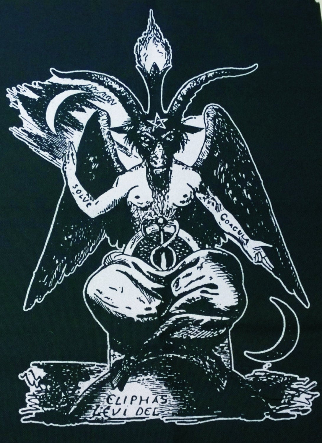BAPHOMET SHIRT ouija satan witch magik goat by ...