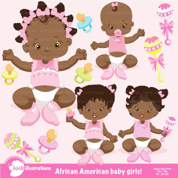 african american baby girl clipart free - photo #9