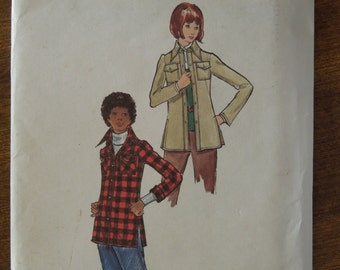 Butterick 6774, Size 14, UNCUT sewing pattern, misses, womens, teens, jacket, craft supplies