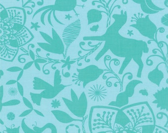 Half Yard Daydreams - Arcadia in Stream - Cotton Quilt Fabric - designed by Kate Spain for Moda Fabrics - 27170-26 (W2802)
