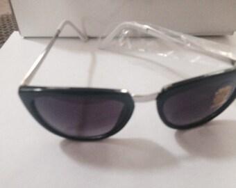 Black Designer Inspired Sunglasses