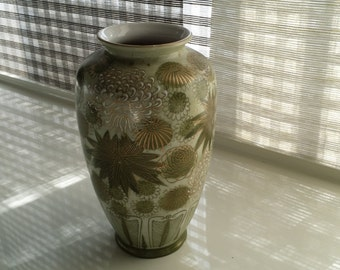 Japanese art vase, rare, handpainted original ceramic