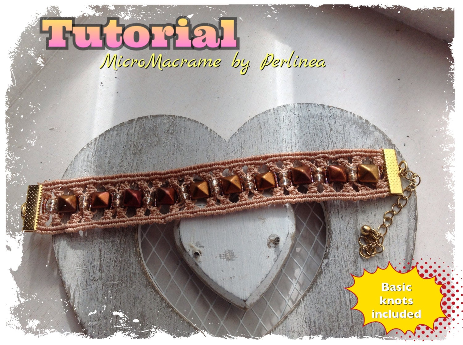 macrame bracelet instructions with pictures