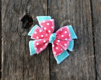 Handmade Fabric Hair Bow