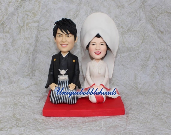 japanese wedding cake toppers japanese wedding cake topper japanese clothescustom cake 16588