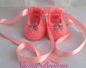 Baby ballet style pumps