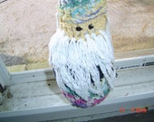 Mr Gnome toy  gift anyone multicolored OOAKHandmade Toy