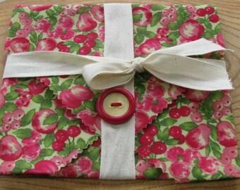 Fabric Sandwich Wrap - Beewax Wrap - Beewax Sandwich Wrap - Reusable fabric Wrap - Reusable Wrap