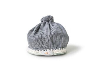 Signature Baby Hat: Stone Sage