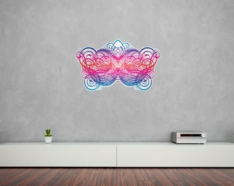 Calligraphy Flourish Vinyl Wall Art