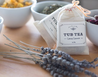 Bath Tea Bulk Set of 12 any variety ~ co-worker gifts ~ bath soak bridesmaid & party favors ~ Tub Tea gifts for her