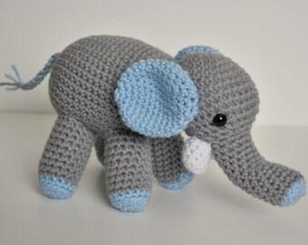 Elma the Elephant Crochet Pattern
