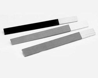 Flat Abrasive Emery Stick - M edium, 3 (GRIT 180) WA 100-165