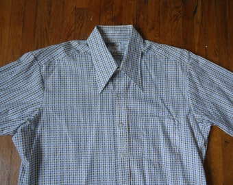 Vintage 70s Atleigh Patterned Shirt Size 16