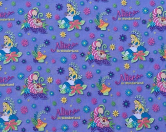 Springs Creative - Alice In Wonderland - Cotton Woven Fabric
