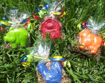 20 bags farm animal party favors crayons,  barnyard party, farmhouse, petting zoo birthday, farming party, favors, pig, cow, rooster, farm,