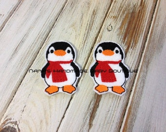 PENGUIN Feltie/Clippie Design - 4 x 4 and 5 x 7 DIGITAL Embroidery DESIGN