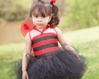 Lucky Lady Bug Tutu Dress