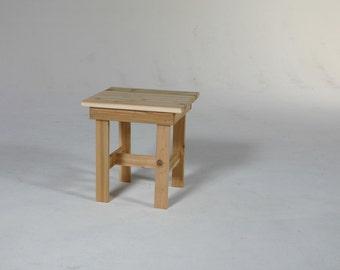 Square Adirondack table