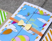 Dr. Seuss 'Oh The Places You'll Go' Party Invitations