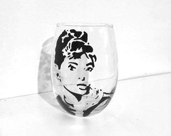 Custom Painted Glassware