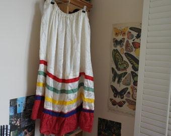 Long Stripe Skirt