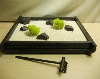 M01 - Medium Desk or Table Top Zen Garden - DIY Kit