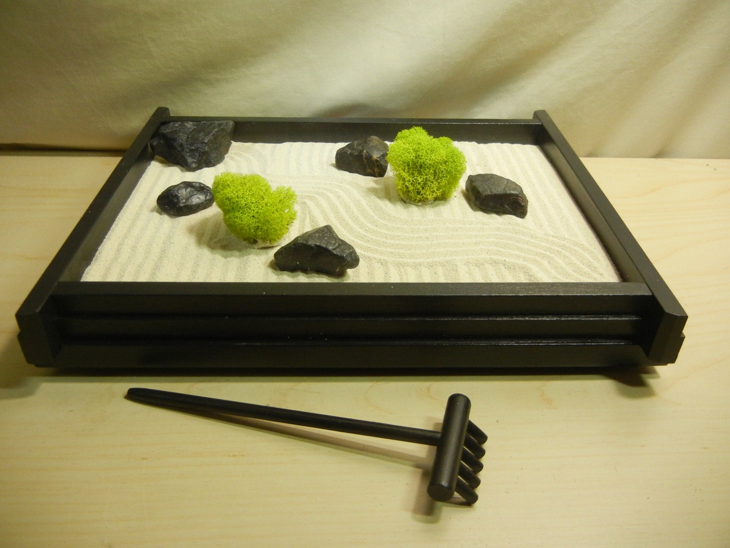 M01 medium desk or table top zen garden diy kit for Table zen garden
