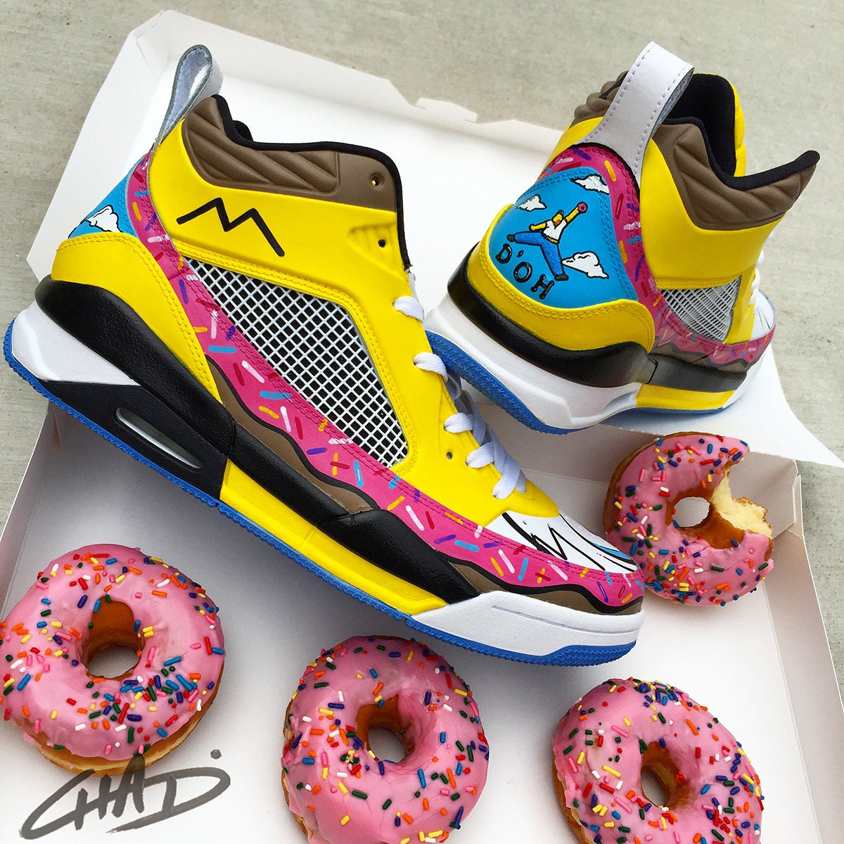 Homer Simpson Nike Shoes