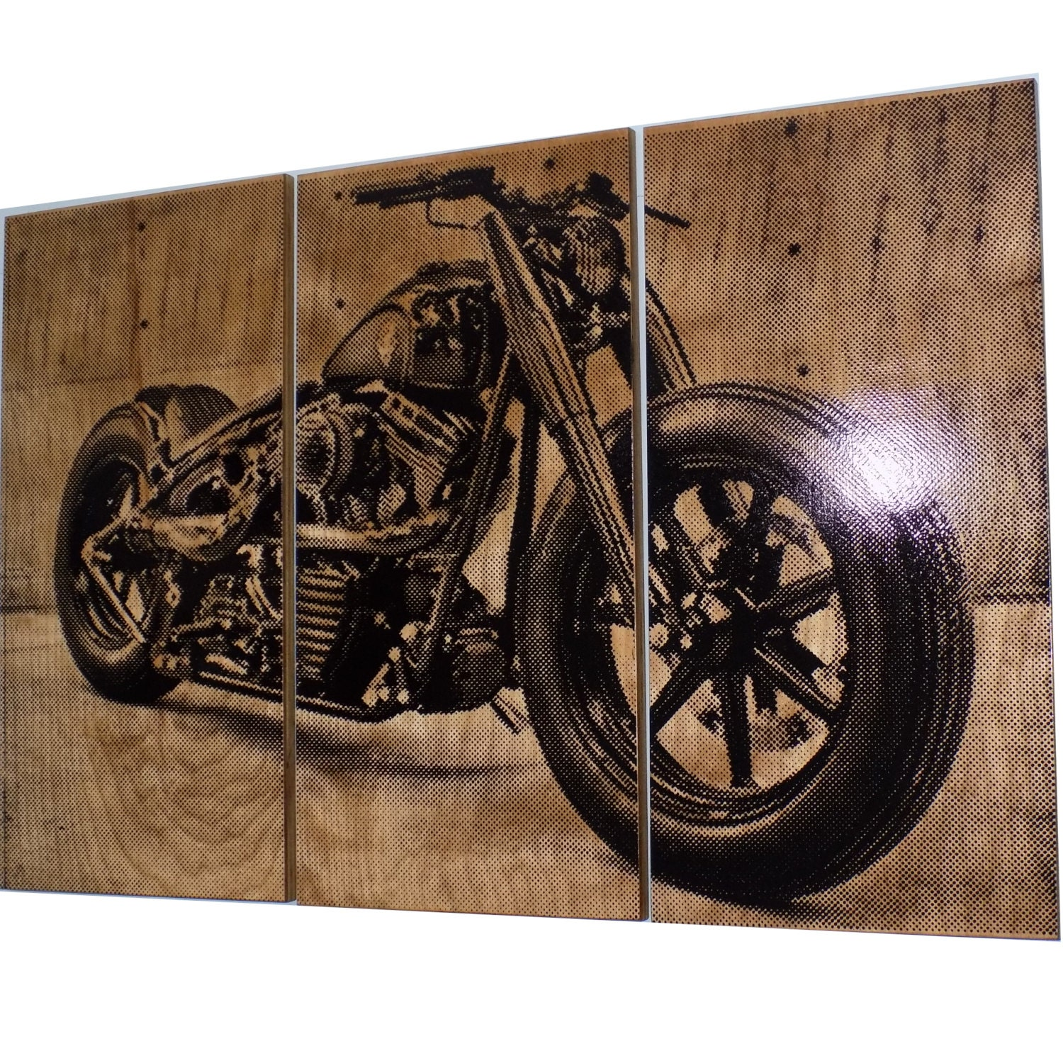 harley davidson wall art roselawnlutheran. Black Bedroom Furniture Sets. Home Design Ideas