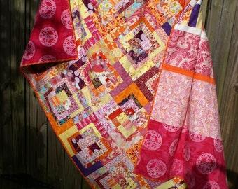 Bright Bento Box Queen size Quilt