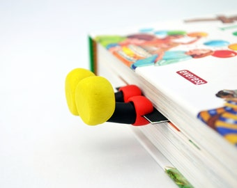 Funny legs Mickey Mouse - Funny Bookmarks