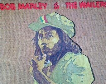 Bob Marley and The Wailers - Rastaman Vibration - vinyl record