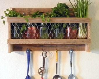 Rustic Country Kitchen Rack/Kitchen Storage/Bathroom Storage