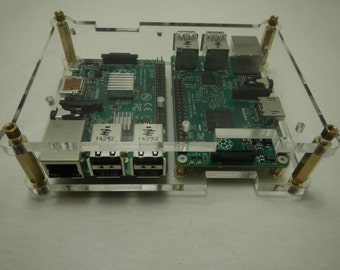 """Stackable Case for Raspberry Pi3, Pi2, B+  """"Sidewinder"""""""