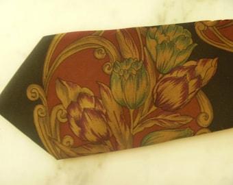 Vintage Silk Necktie Brown