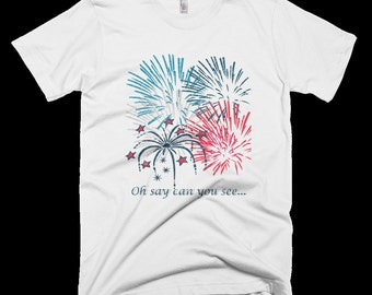 Childs 4th of July Patriotic T-Shirt
