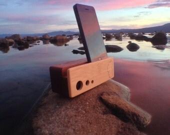 Three Dot Beat Block - Acoustic iPhone Amplifier