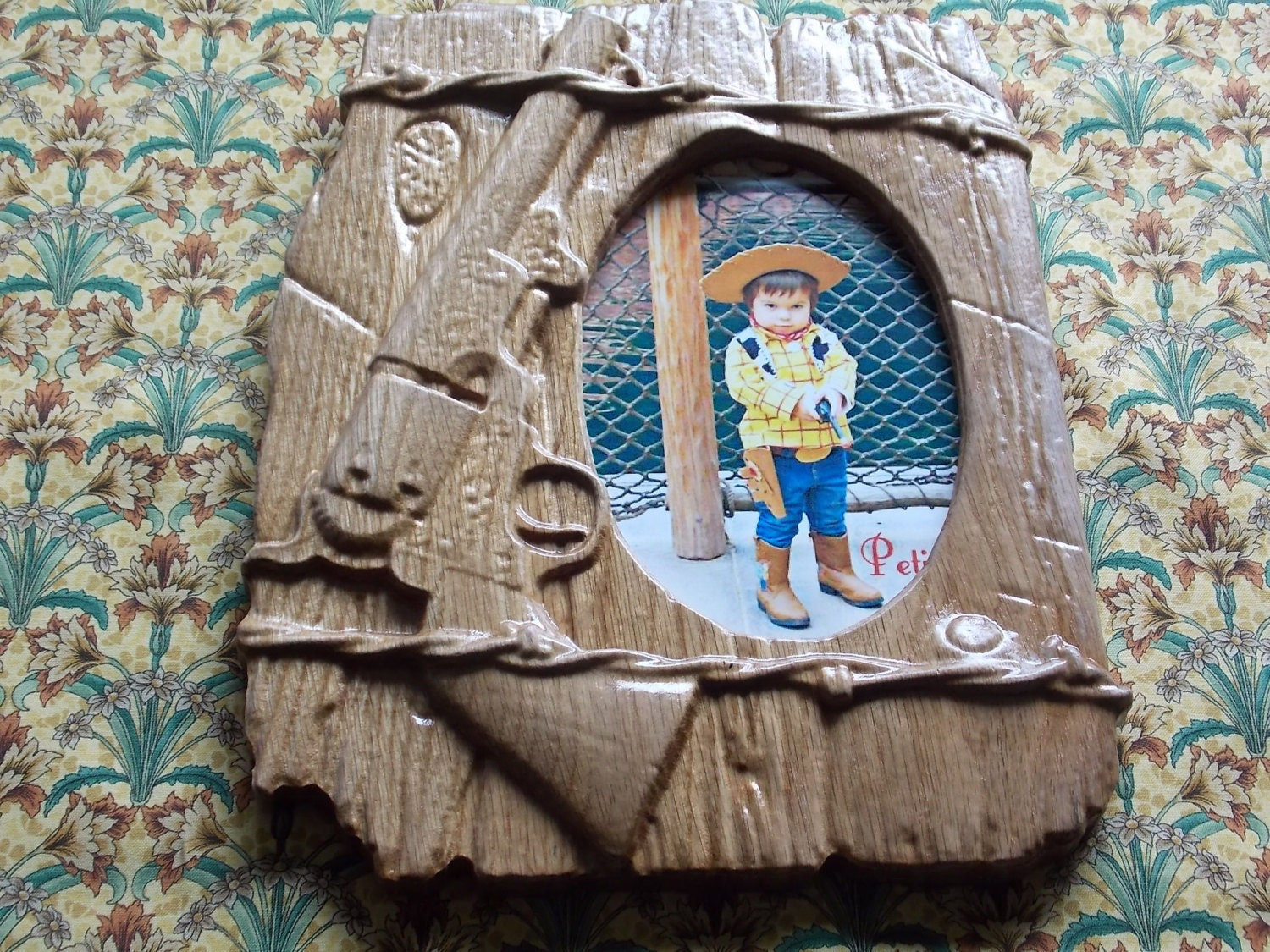 Wood Carvings For Sale Western Picture Frames Barbed