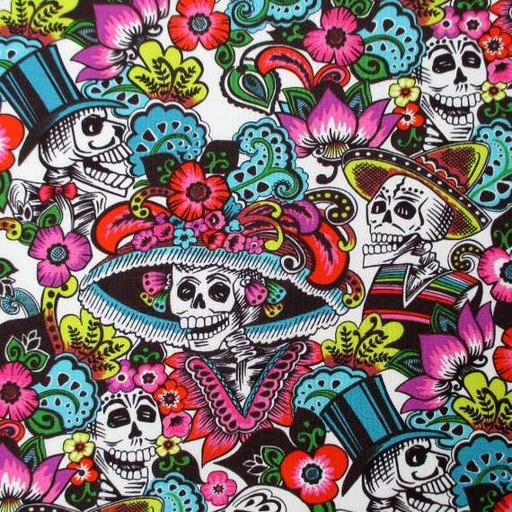Fabric Catrina Chiquita In Natural Alexander Henry Day