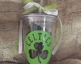 Celtics tumbler cup
