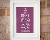 The Best Wines - Gicleé Print